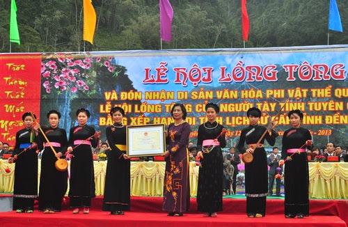 Lễ hội Lồng Tồng của người Tày ở Lào Cai